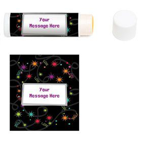 The Party Continues Personalized Lip Balm (12 Pack)