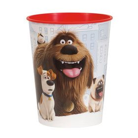 The Secret Life of Pets 16oz Plastic Favor Cup (Each)