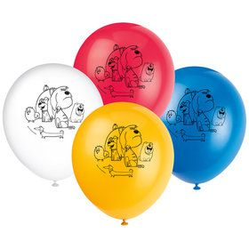 "The Secret Life of Pets 2 Sided 12"" Balloons (8 Count)"