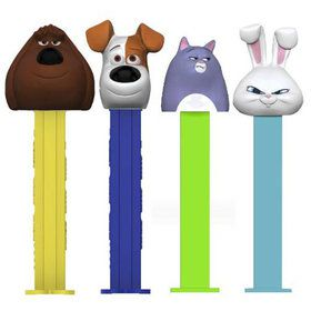 The Secret Life of Pets Pez Dispenser and Candy Set (Each)