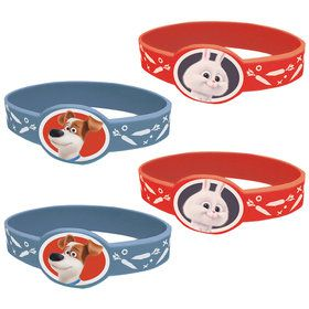 The Secret Life of Pets Stretchy Bracelets (4 Count)