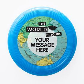 The World Awaits Personalized Mini Discs (Set Of 12)