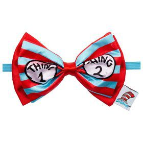 Thing 1&2 Deluxe Printed Bowtie