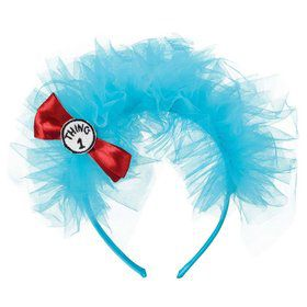 Thing 1 & 2 Tulle Headband