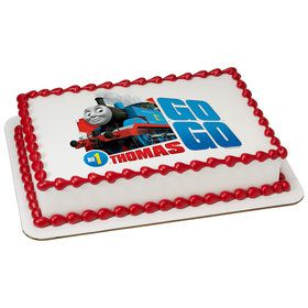 Thomas and Friends Quarter Sheet Edible Cake Topper (Each)