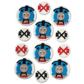 Thomas the Tank Engine Edible Icing Decorations (12 Pack)