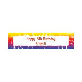 Tie Dye Fun Personalized Banner (each)