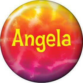 Tie Dye Fun Personalized Mini Button (each)
