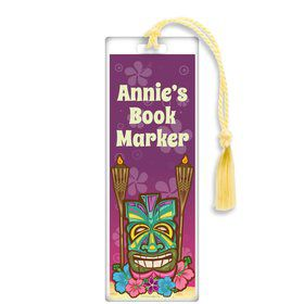 Tiki Party Personalized Bookmark (each)