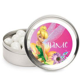 Tinkerbell Personalized Candy Tins (12 Pack)
