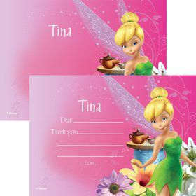 Tinkerbell Personalized Thank You (Each)