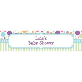 Tiny Bundle Blue Personalized Banner (Each)