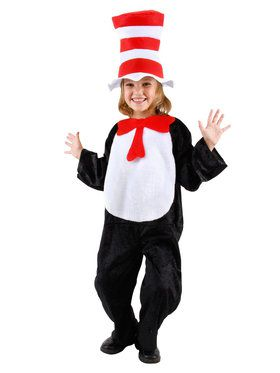 Toddler Cat In The Hat Costume