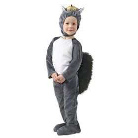 Toddler Nibbles the Squirrel Costume