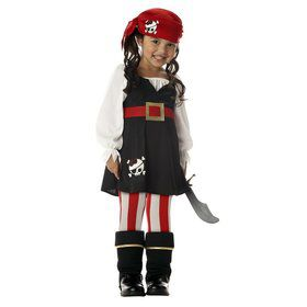 Toddler Precious Little Pirate Costume