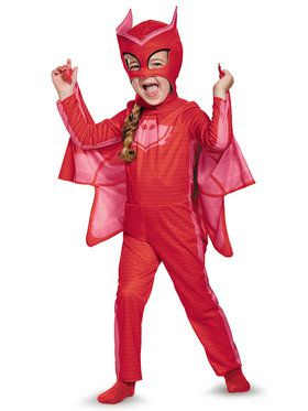 Pj Masks Owlette Classic Toddler Costume