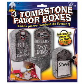 Tombstone Favor Boxes (3)