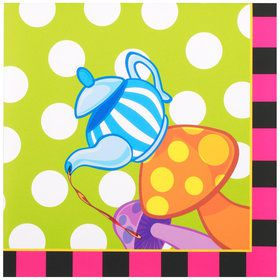 Topsy Turvy Tea Party Lunch Napkins