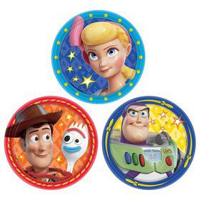 Toy Story 4 Assorted Dessert Plates (8)