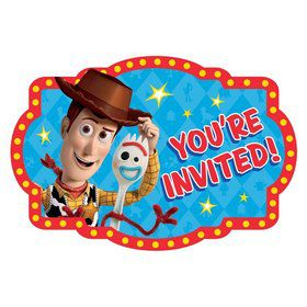 Toy Story 4 Postcard Invitations (8)