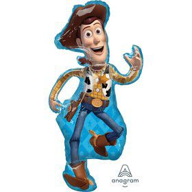 Toy Story 4 Woody 44 Jumbo Shaped Foil Balloon
