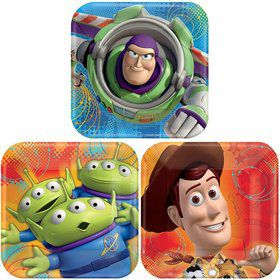 "Toy Story 7"" Cake Plates (8 Pack)"