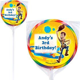 Toy Story Personalized Lollipops (12 Pack)