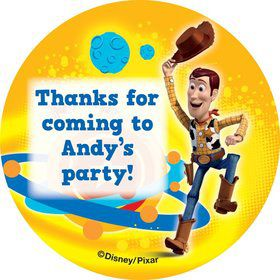 Toy Story Personalized Stickers (Sheet Of 12)