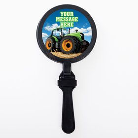 Tractor Time Personalized Clappers (Set of 12)