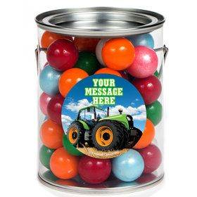 Tractor Time Personalized Paint Cans (6 Pack)