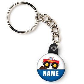 "Traffic Jam Personalized 1"" Mini Key Chain (Each)"