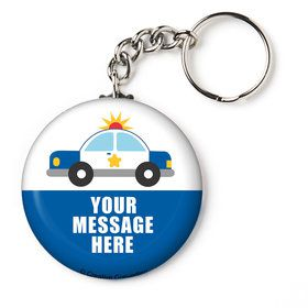 "Traffic Jam Personalized 2.25"" Key Chain (Each)"