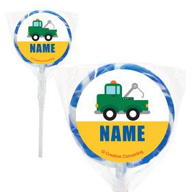 "Traffic Jam Personalized 2"" Lollipops (20 Pack)"