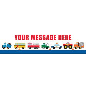 Traffic Jam Personalized Banner (Each)