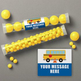 Traffic Jam Personalized Candy Tubes (12 Count)