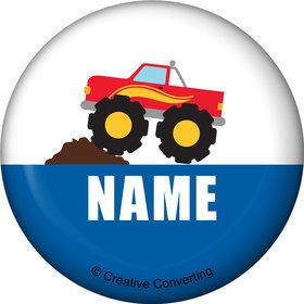 Traffic Jam Personalized Mini Button (Each)