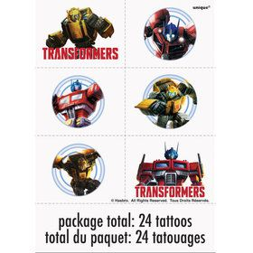 Transformer Tattoo Sheets (4)