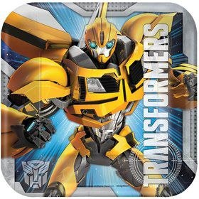 "Transformers 7"" Cake Plates (8 Pack)"