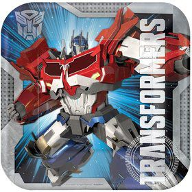 "Transformers 9"" Luncheon Plates (8 Pack)"