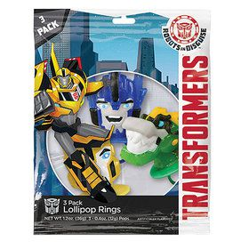 Transformers Lollipop Rings (3 Count)