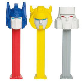 Transformers Pez Dispenser and Candy Set (Each)