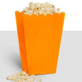 Treat Popcorn Box Orange (10 Pack)