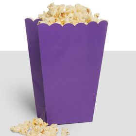 Treat Popcorn Box Purple (10 Pack)
