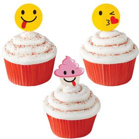 Treatoji Cupcake Picks (24 Count)