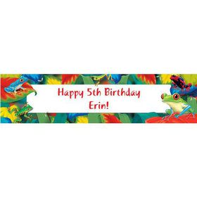 Tree Frog Personalized Banner (each)