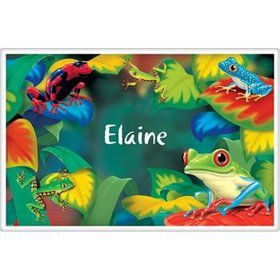 Tree Frog Personalized Placemat (each)