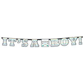 "Tribal Boy ""It's a BOY"" Banner (1)"