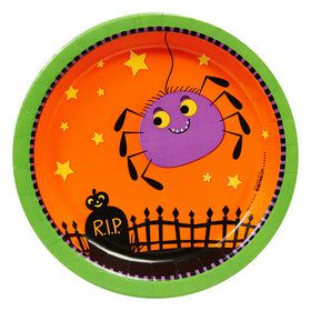 Trick or Treat Halloween Dessert Plates (8)