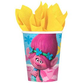 Trolls 9 oz Cups (8 Count)