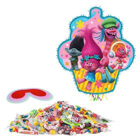 Trolls Drum Pull Pop Pinata Kit